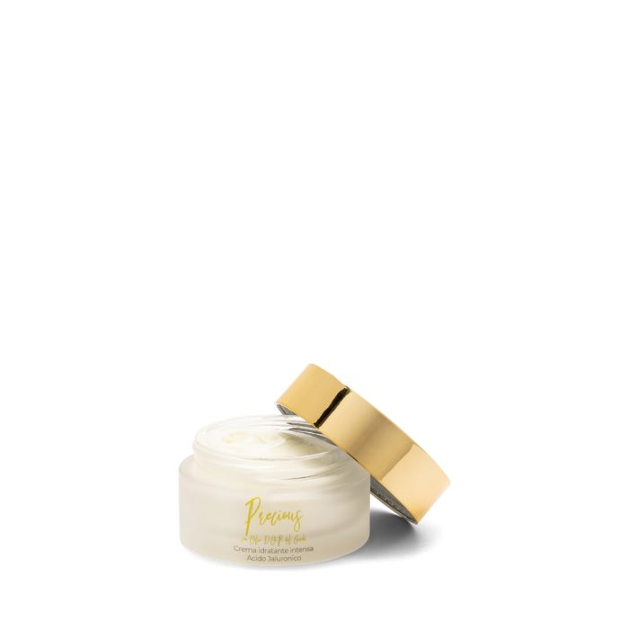 Intense moisturising face cream with hyaluronic acid - with D.O.P. Garda oil