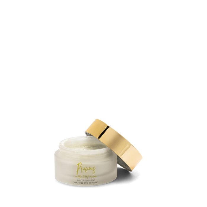 Protective anti-ageing and anti-pollution face cream with D.O.P. Garda oil