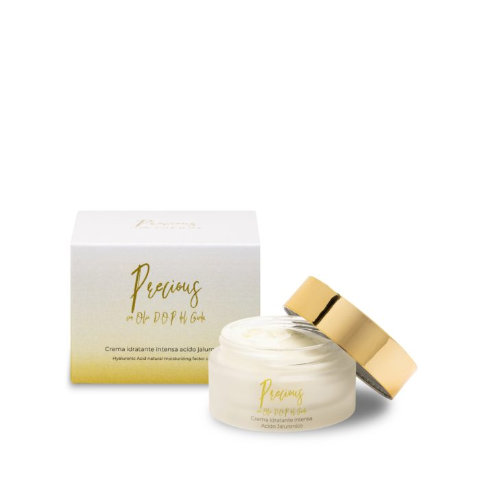 Intense moisturising face cream with hyaluronic acid - with D.O.P. Garda oil - Online cosmetic sale