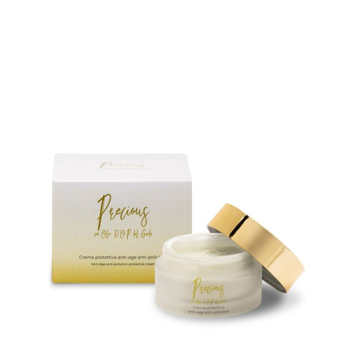 Protective anti-ageing and anti-pollution face cream with D.O.P. Garda oil - Online cosmetic sale